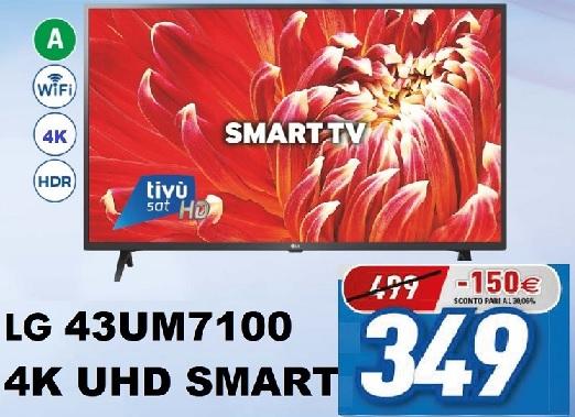 LG 43″ UHD 4K SMART TV